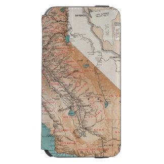 Map of California 2 Incipio Watson™ iPhone 6 Wallet Case