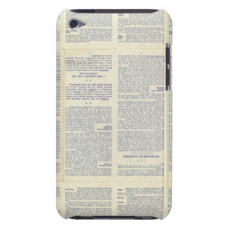 Map of California 3 Case-Mate iPod Touch Case
