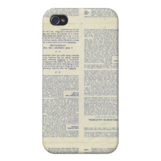 Map of California 3 iPhone 4 Cover