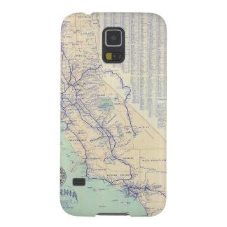 Map of California 4 Galaxy S5 Case