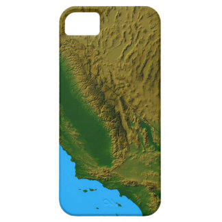 Map of California and Nevada 2 Barely There iPhone 5 Case