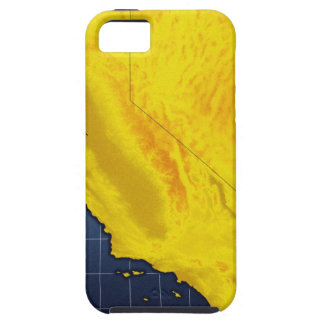 Map of California and Nevada Case For The iPhone 5