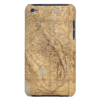 Map Of California And Nevada iPod Touch Cover