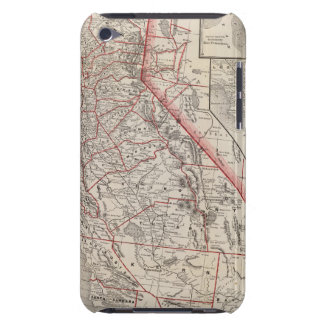 Map of California Barely There iPod Cases