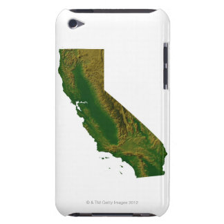 Map of California Barely There iPod Cover