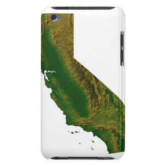 Map of California Barely There iPod Case