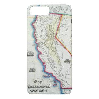 Map of California iPhone 8 Plus/7 Plus Case