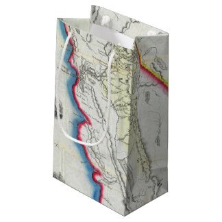 Map of California Small Gift Bag