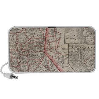 Map of California Notebook Speaker