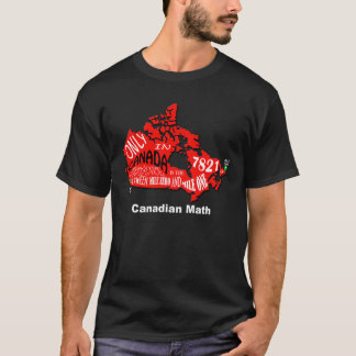 map of Canada Basic T-Shirt
