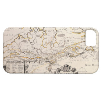 Map of Canada Case For The iPhone 5