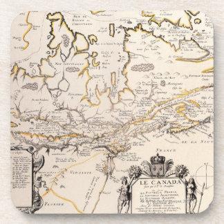 Map of Canada Coaster
