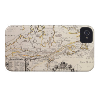 Map of Canada iPhone 4 Cover