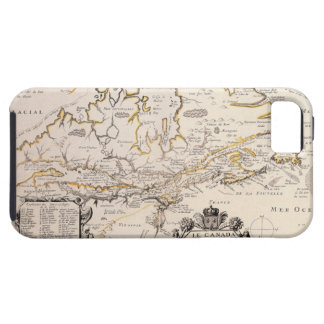 Map of Canada iPhone 5 Case