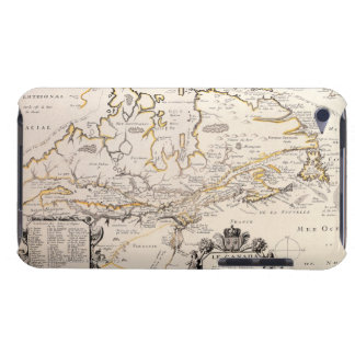 Map of Canada iPod Touch Case-Mate Case