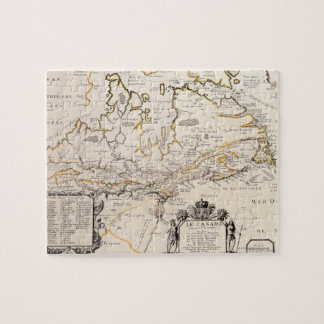 Map of Canada Jigsaw Puzzle