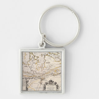 Map of Canada Key Ring