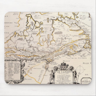 Map of Canada Mouse Mat