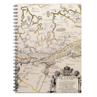 Map of Canada Notebook