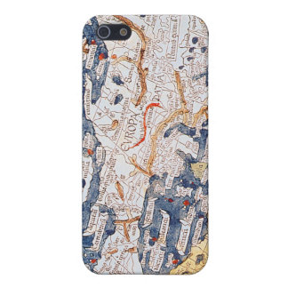 Map of central Europe, 1486 iPhone 5 Case