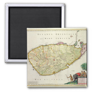 Map of Ceylon according to Nicolas Visscher Magnet