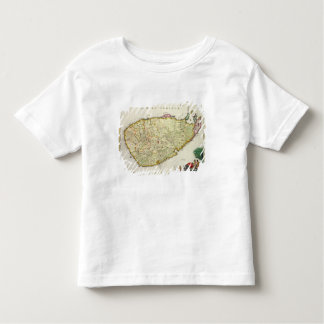 Map of Ceylon according to Nicolas Visscher Toddler T-Shirt