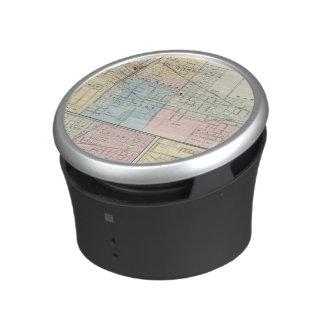 Map of Champaign, Urbana, Mattoon and Charleston Bluetooth Speaker