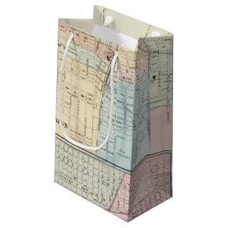 Map of Champaign, Urbana, Mattoon and Charleston Small Gift Bag