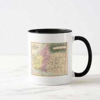 Map of Charleston, West Virginia Mug