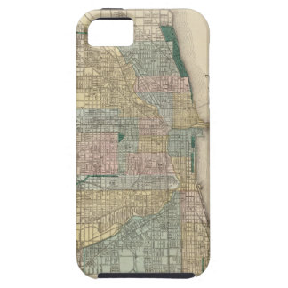 Map of Chicago City iPhone 5 Cover