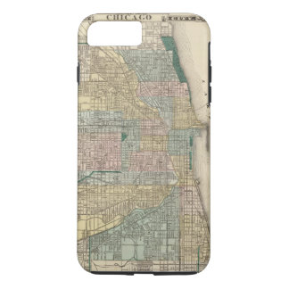 Map of Chicago City iPhone 7 Plus Case