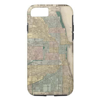 Map of Chicago City iPhone 8/7 Case