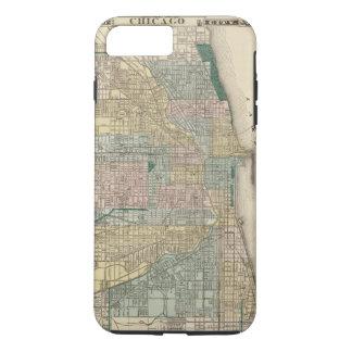 Map of Chicago City iPhone 8 Plus/7 Plus Case