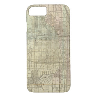Map Of Chicago iPhone 8/7 Case