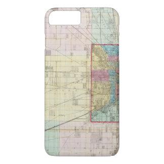 Map of Chicago iPhone 8 Plus/7 Plus Case