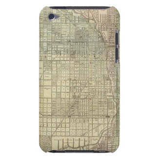 Map Of Chicago iPod Touch Case-Mate Case