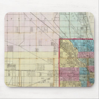 Map of Chicago Mouse Pad