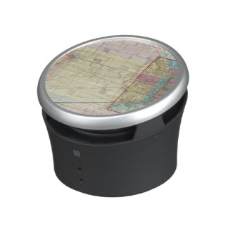 Map of Chicago Bluetooth Speaker