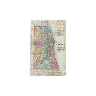 Map of Chicago Pocket Moleskine Notebook