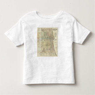Map Of Chicago Toddler T-Shirt