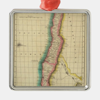 Map Of Chili Christmas Ornament