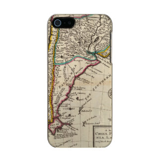 Map of Chili, Patagonia, La Plata Incipio Feather® Shine iPhone 5 Case