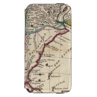 Map of Chili, Patagonia, La Plata Incipio Watson™ iPhone 6 Wallet Case