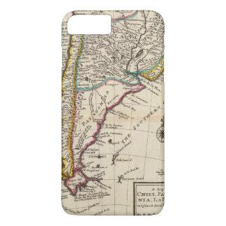 Map of Chili, Patagonia, La Plata iPhone 8 Plus/7 Plus Case
