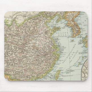 Map of China and Japan Mouse Pad