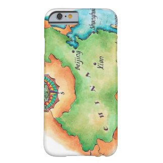 Map of China Barely There iPhone 6 Case