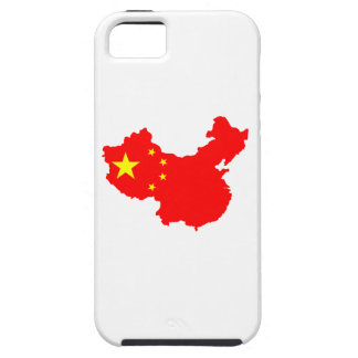 Map of China iPhone 5 Cases