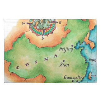 Map of China Placemat