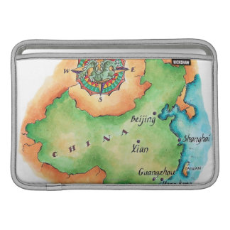 Map of China Sleeve For MacBook Air