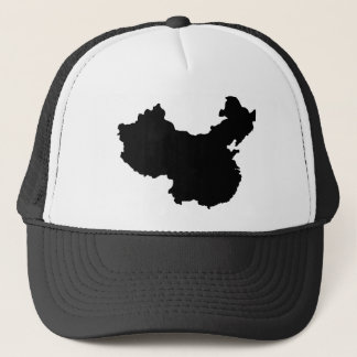 Map of China Trucker Hat